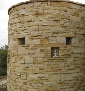 Stone Meditation Room